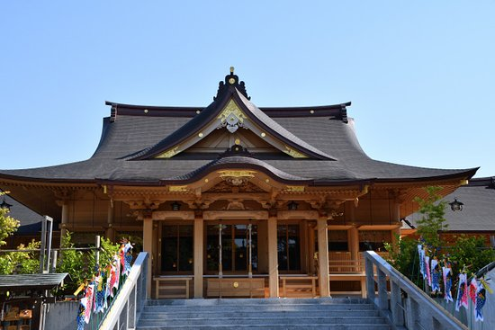 Fuji, Nhật Bản: 再建された本殿
