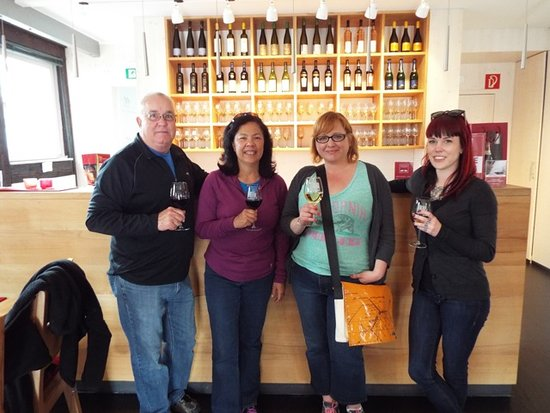 Stuttgart Steps Tours: Our custom vineyard walks are a great way to sample the amazing diversity of the local wines!