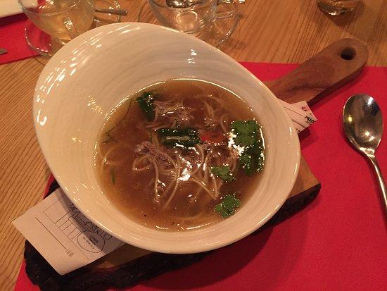 """Ресторан """"Одесса"""": duck soup"""