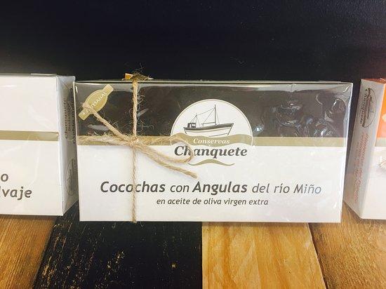 el Colmado Iberico Gourmet House: Cocochas con angulas del rio Miño.