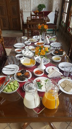 Isfahan Province, Ιράν: Our Breakfast