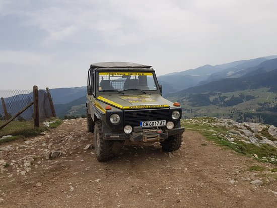 Smolyan Province, Bulgaria: The jeep