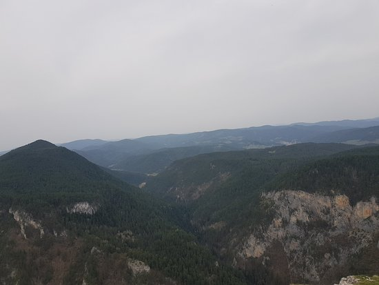 Smolyan Province, Bulgaria: From front of viewing platform