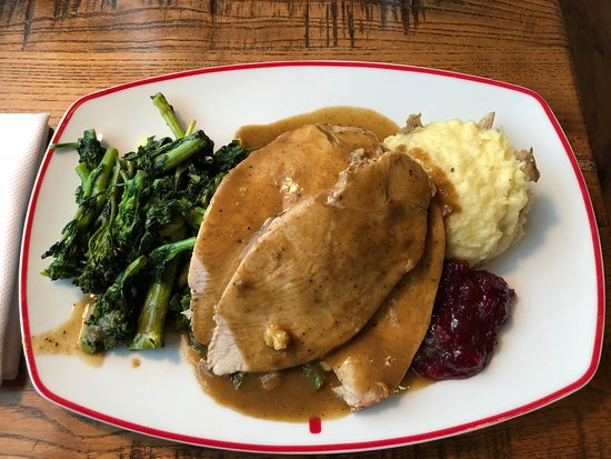 Founding Farmers- Tysons: Turkey with broccolini