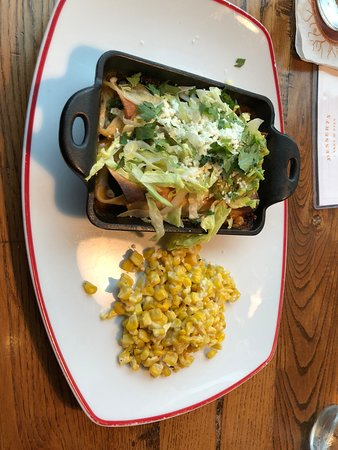 Founding Farmers- Tysons: Chicken enchiladas