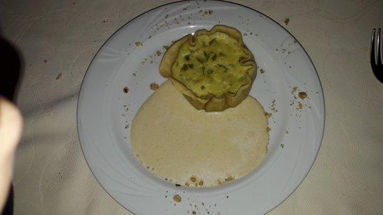 Province of Cuneo, Italy: Tortino di Asparagi con fonduta