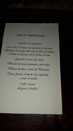 Province of Cuneo, Italy: 1° Maggio Menù