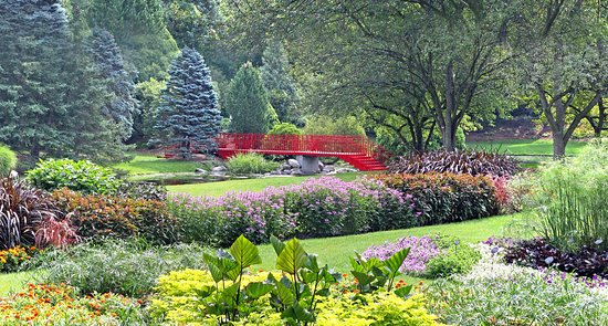 Midland, MI: The Color Garden