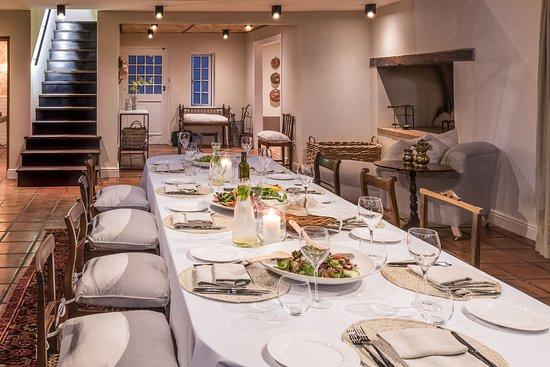 La Clé des Montagnes: Join us for a Chef's Table dinner on Mondays, Wednesdays and Fridays at La Clé Lodge