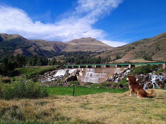 Sicuani, Perù: La vista impresionante desde el restaurante.