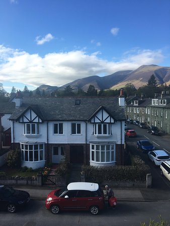 The Winchester in Keswick: The amazing view from our room!