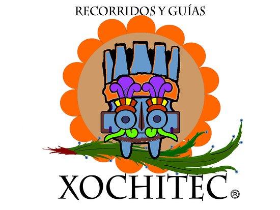 Naucalpan, México: Nuestro bello logotipo. Una mezcla de divinidades prehispánicas: Tonatiiuh, Tlaloc, Xochipilli.
