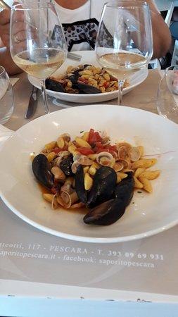 Province of Pescara, Italy: gnocchetti allo scoglio