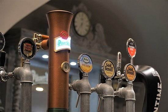 Shabby Lab Steak House: Birre alla spina
