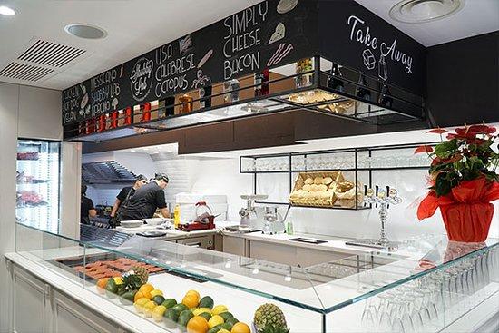 Shabby Lab Steak House: Interni