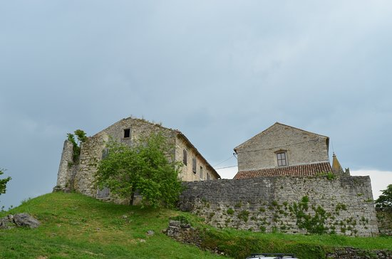 Hum, Croatia: View from parking area