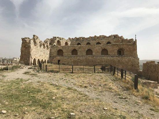 الكرك, الأردن: Upper part of the castle