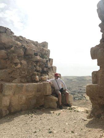 Karak, Jordan: One of the wall`s breakenings