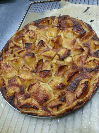 La tarte aux pommes caramélisées, faite maison évidemment!