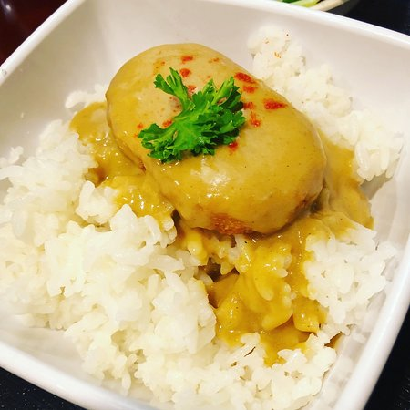 Sekai Udon Bar: Curry croquette don – Coconut curry & creamy croquette