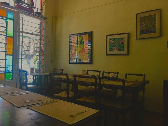 Cacerola: Área das mesas