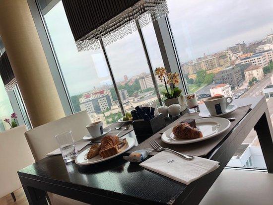 NH Padova: Sala per la colazione al 12° piano