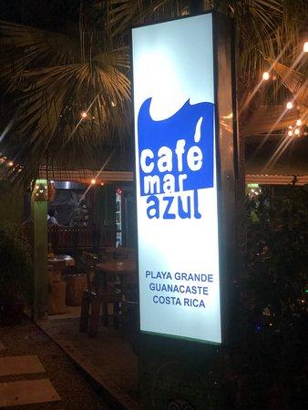 Cafe Mar Azul: entrance