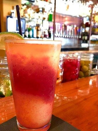 Colfax, Калифорния: Frozen swirled Margarita