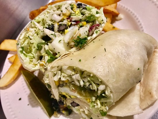 Colfax, Kalifornien: Veggie Wrap