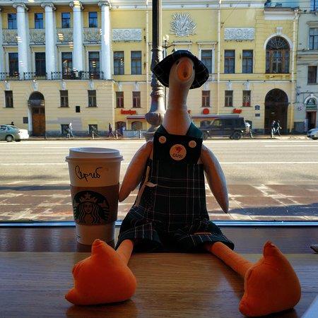 Starbucks: Гуси в городе