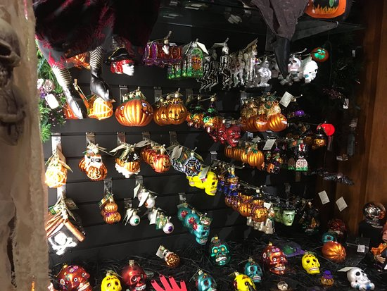 New Orleans Christmas Ornaments.Halloween Section Of Ornaments Picture Of Santa S Quarters