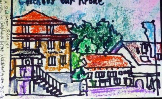 Waldburg, Tyskland: Hotel mit Gasthaus