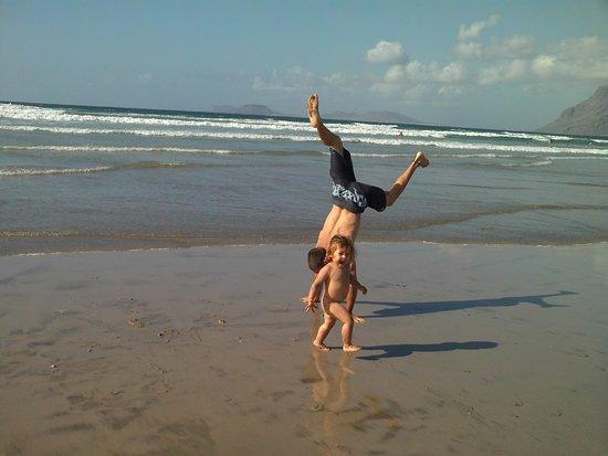 Soo, Spain: Playa a 5 minutos