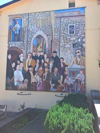 Guardia Perticara, إيطاليا: Murales