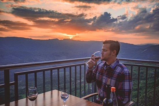 Hotel Sokoline: Restaurant Terrace
