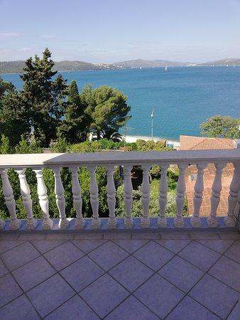 Okrug Gornji, Croatia: Pogled sa terase