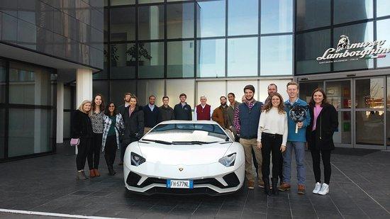 Lamborghini Car Factory Tour Picture Of Emilia Storytellers