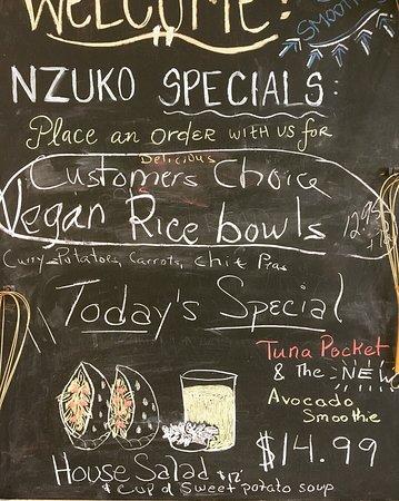 Nzuko Restaurant Picture
