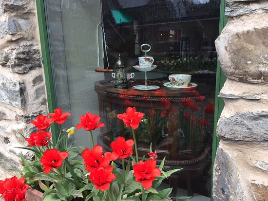 Grandtully, UK: Kaffe und Schokolade