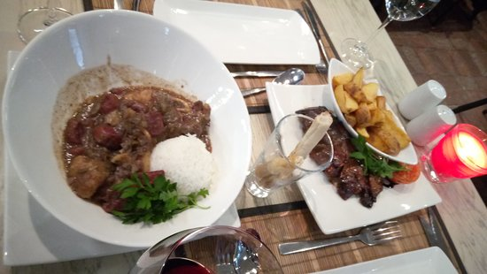 Lovely African food