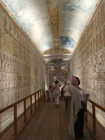 Tomb of Ramses VI張圖片