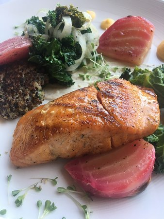 Jax Fish House & Oyster Bar:  Salmon