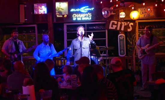 Muscle Shoals, AL: Johnny Rotten Cash at Champy's in 2015 for John Lennon's B'day