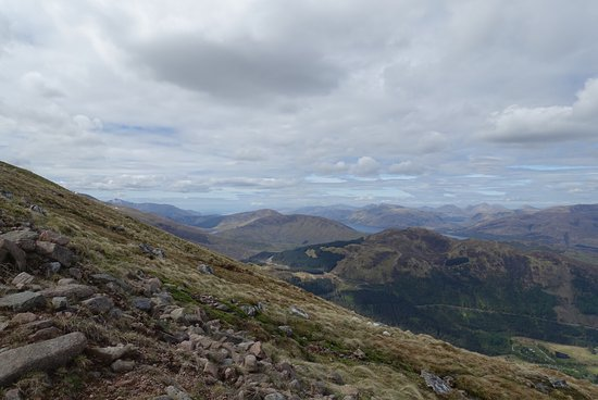 Kinlochleven, UK: On the way up