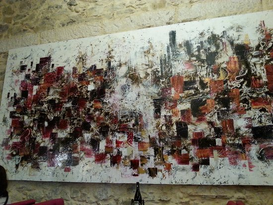 Le Somail, فرنسا: Toile gigantesque