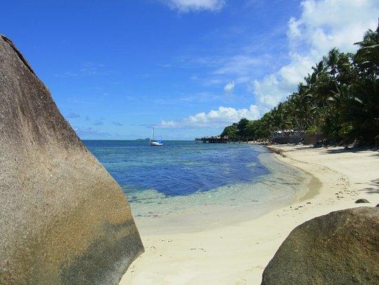 Anse Bois de Rose, Seychelles: One of three beaches