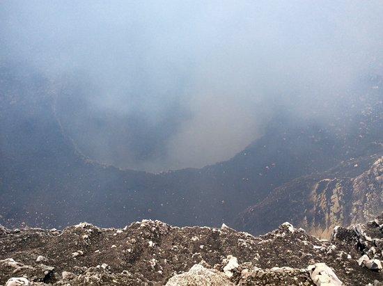 Masaya, Nicaragua: Inside volcano