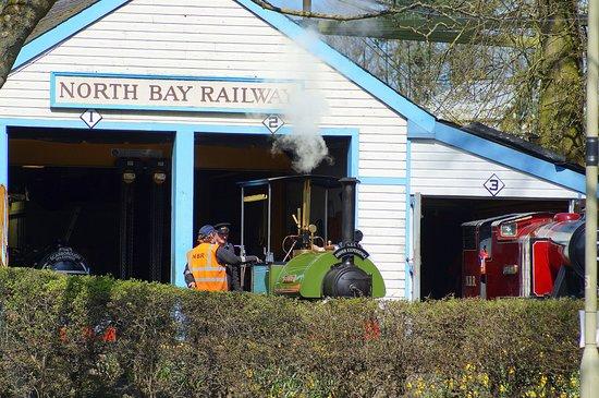 North Bay Railway: A very pretty location.