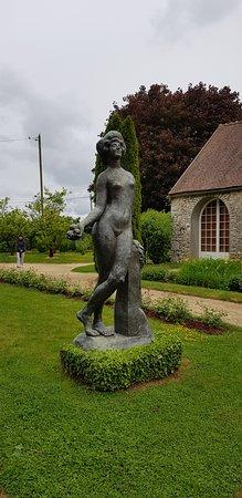 Egreville, Francia: Musee Jardin Bourdelle
