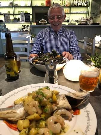 Luss Seafood Bar : Great seafood